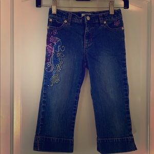 Circo embroidered girls jeans